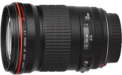 Canon EF 135mm f2.0L USM Lens