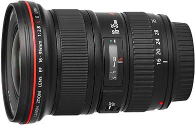Canon EF-16-35mm f.2.8-L II USM Lens