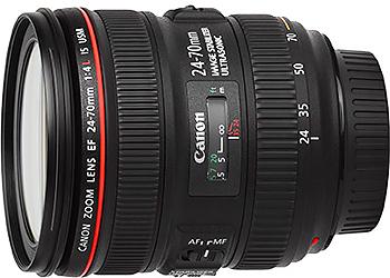 Canon EF 24-70mm f4L IS USM Lens