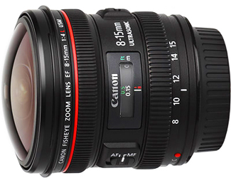 Canon EF 8-15mm f4L USM Fisheye