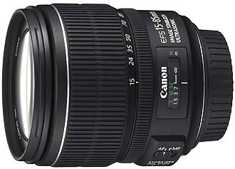 Canon EF-S 15-85mm f3.5-5.6 IS USM Lens