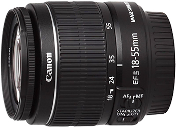 Canon EF-S 18-55mm f3.5-5.6 IS II Lens