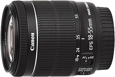 Canon EF-S 18-55mm f3.5-5.6 IS STM Lenss