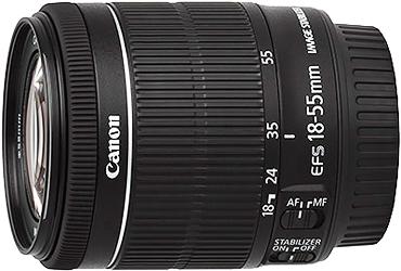 Canon EF-S 18-55mm f3.5-5.6 IS STM Lenss