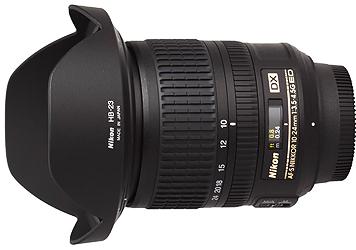 Nikon 10-24mm f3.5-4.5G AF-S DX Lens