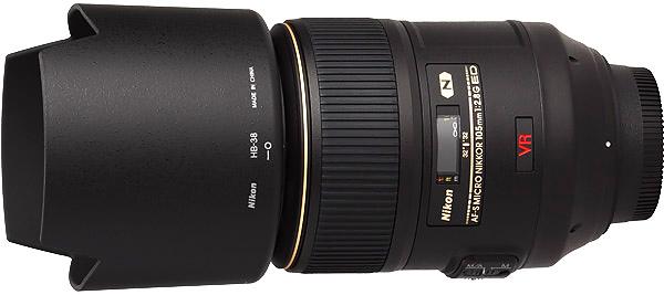 Nikon 105mm f2.8G AF-S VR Micro Lens