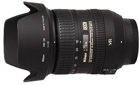 Nikon 16-85mm f3.5-5.6G VR AF-S DX Lens