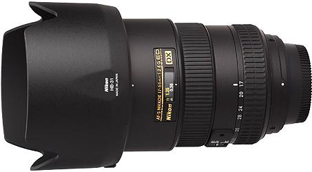 Nikon 17-55mm f2.8G AF-S DX Lens