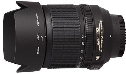 Nikon 18-105mm f3.5-5.6G VR AF-S DX Lens