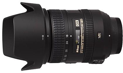 Nikon 18-200mm f3.5-5.6G AF-S DX VR II Lens
