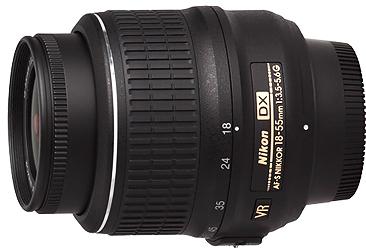 Nikon 18-55mm f3.5-5.6G VR AF-S DX Lens