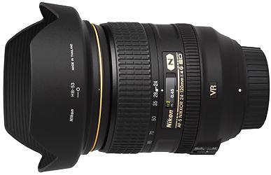 Nikon 24-120mm f4G AF-S VR Lens