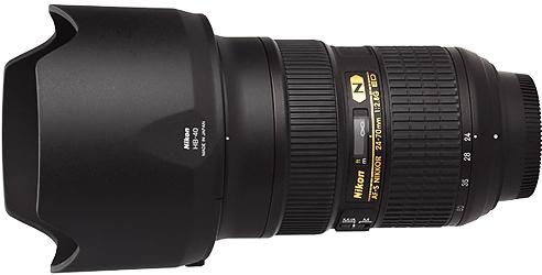 Nikon 24-70mm f2.8G AF-S Lens