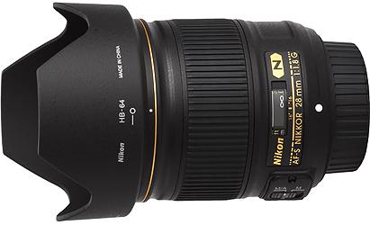 Nikon 28mm f1.8G AF-S Lens