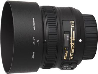 Nikon 50mm f1.8G AF-S Lens