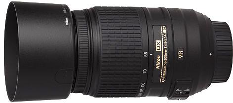 Nikon 55-300mm f4.5-5.6G AF-S DX VR Lens