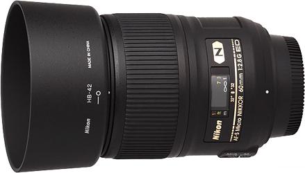 Nikon 60mm f2.8G ED AF-S Micro Lens