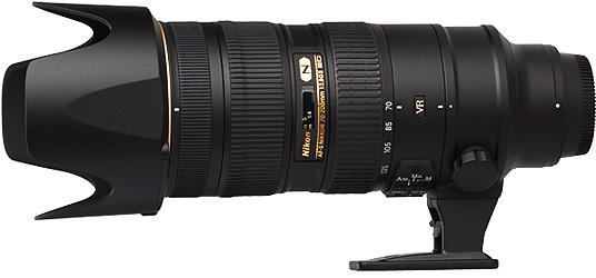 Nikon 70-200mm f2.8G AF-S VR II Lens