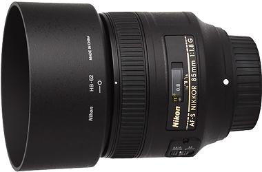 Nikon 85mm f1.8G AF-S Lens